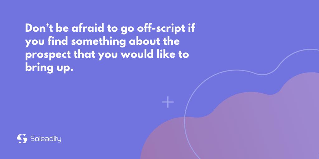 cold calling script tip #2