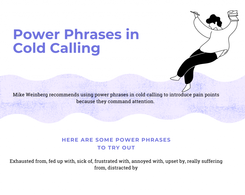 cold calling power phrases